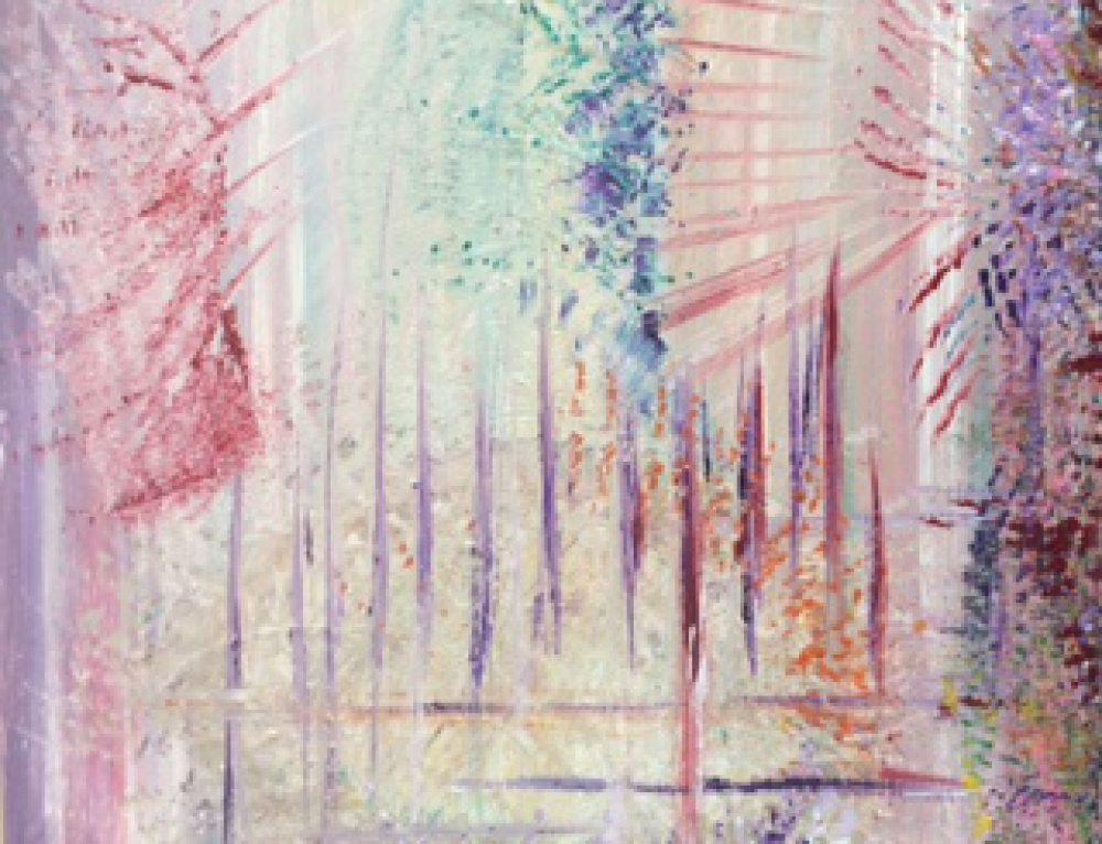 """Intuïtief schilderen  met het thema: """"Op reis in mid-zomer"""""""